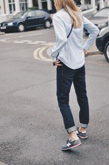 Menswear Jeans: ACNE Studios Van Three Denim