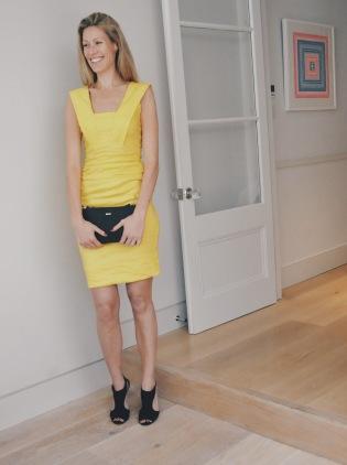 Clutch: DKNY Shoes: LK Bennett